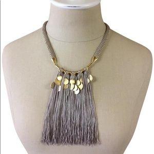 Stella & Dot - Samar Fringe Necklace